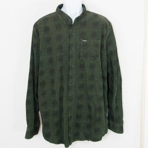 Volcom Maxwell Corduroy Shirt Button Front 0613X